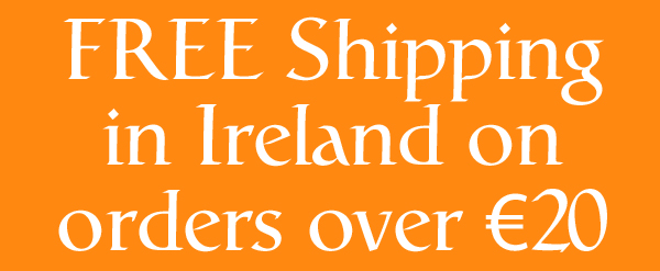 Free Shipping in Ireland over €20